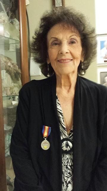 Medal of Good Citizenship Recipient - Joyce Fraser
