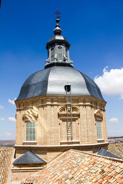 Cupula exterior Iglesia de San Ildefonso o de los Jesuitas Toledo