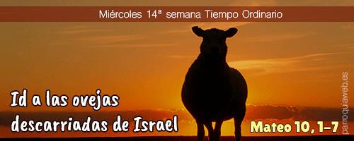 Mateo 10, 1-7 - Parroquia La Santísima Trinidad (Málaga)