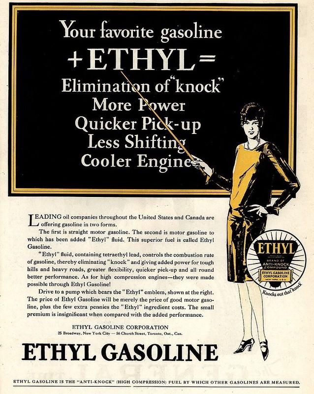 Ethyl Gasoline 1928