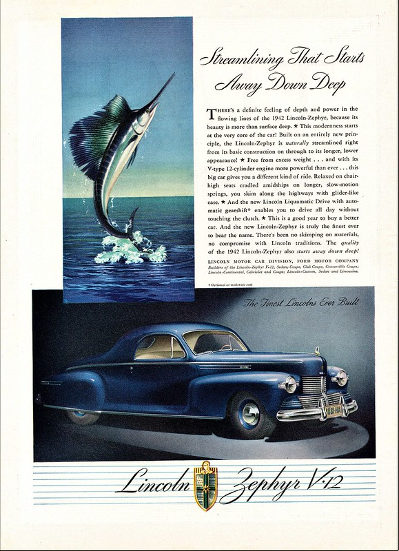 1942 Lincoln-Zephyr Coupe