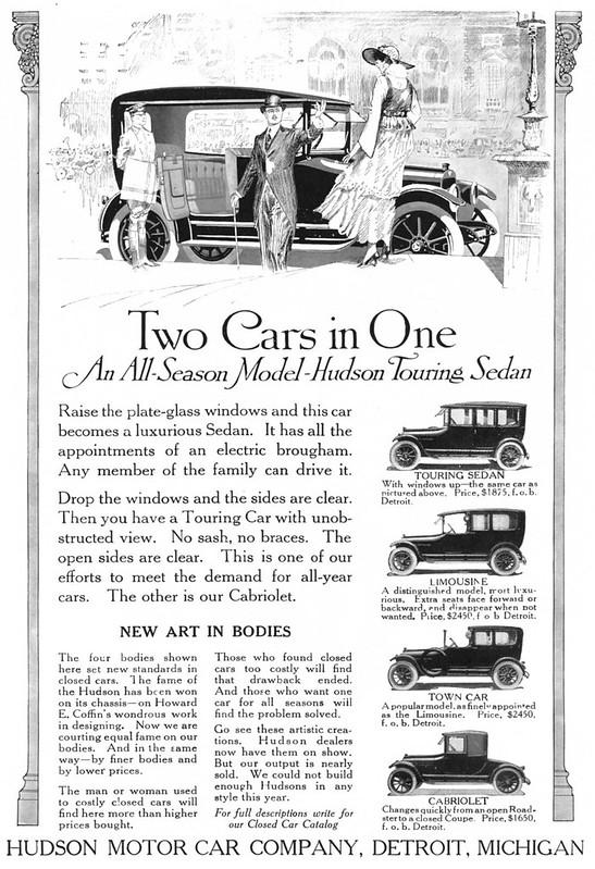 1915 Hudson Touring Sedan