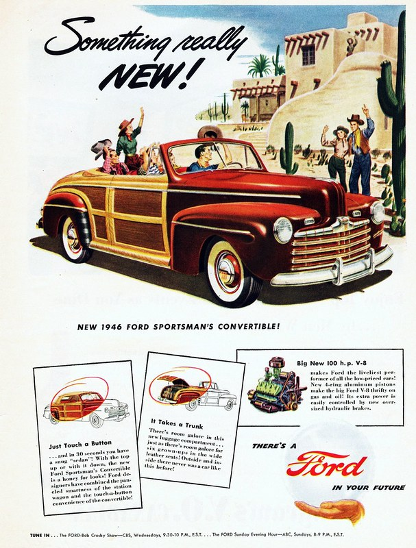 1946 Ford Sportsman's Convertible