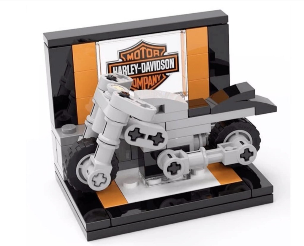 LEGO Mini Harley-Davidson build event?