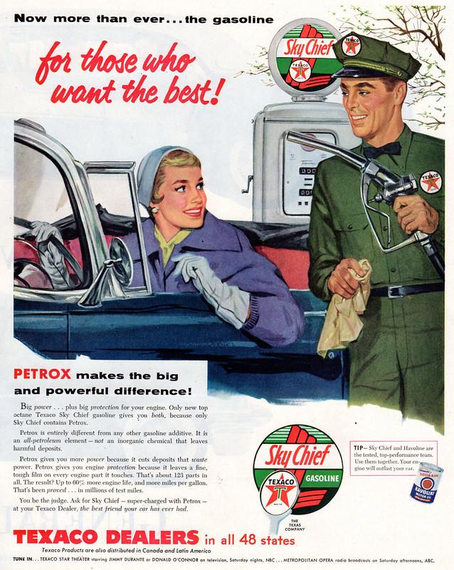 Texaco Sky Chief 1955