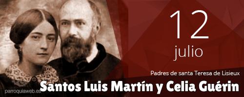 Santos Luis Martín y Celia Guérin