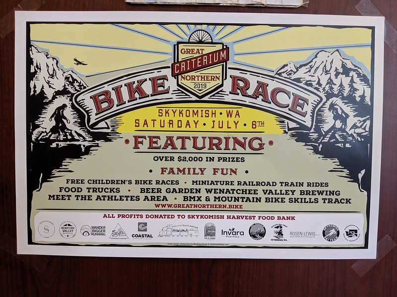 """Great Northern Criterium Poster: I had no idea that such a <a href=""""http://greatnorthern.bike/"""" rel=""""noreferrer nofollow"""">race</a> takes place out there!"""