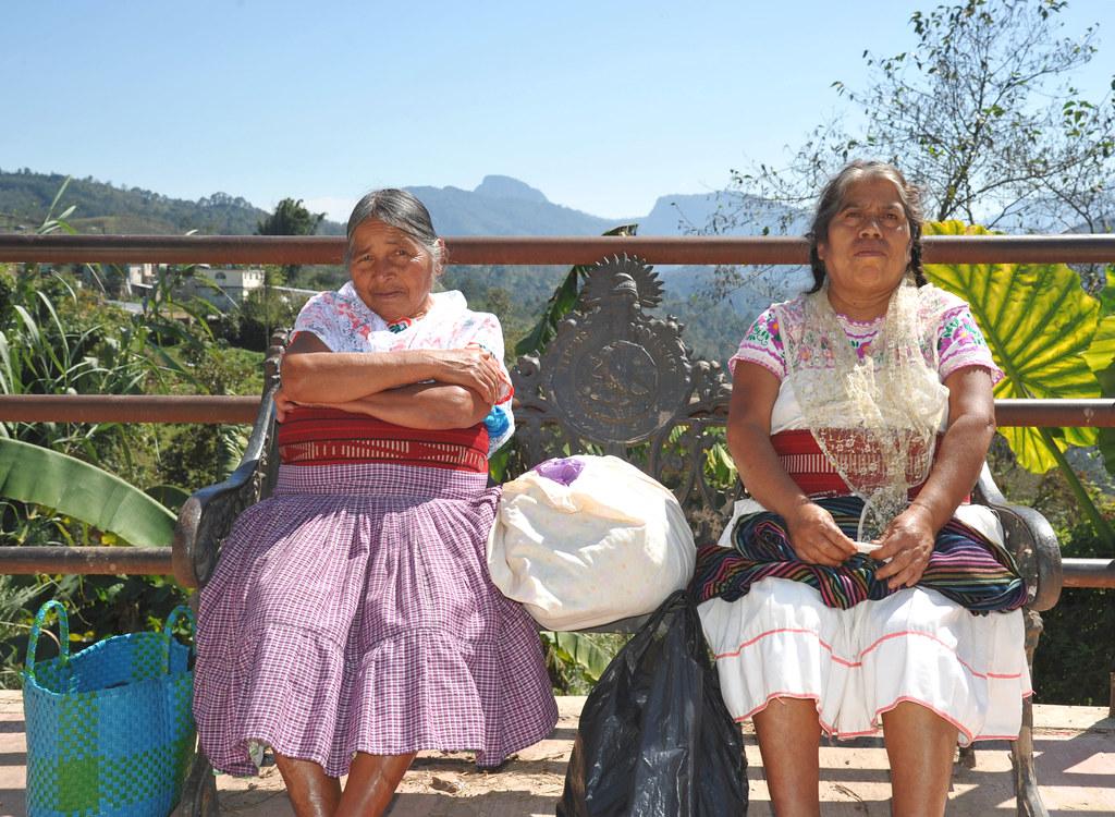 Mujeres Totonacas Totonac Women Puebla Mexico - a photo on