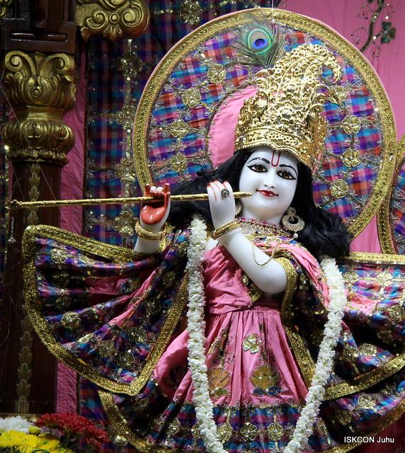 ISKCON Juhu Mangal Deity Darshan on 10th July 2019