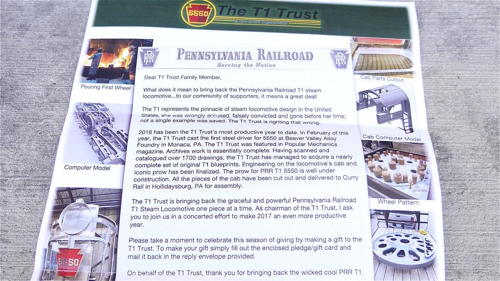 PRR 4-4-4-4 T-1 Trust Project Paper 1! | prrt1steamlocomotiv