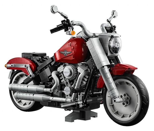 腎上腺素大爆發!狂野、優雅的哈雷上路~ LEGO 10269 創意系列【哈雷 Fat Boy】Creator Expert Harley-Davidson Fat Boy