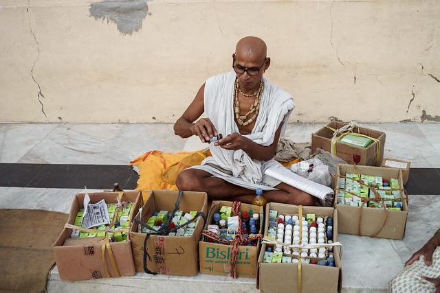 Local Homeopathic Sadhu Doctor - Takumar 35mm 3.5