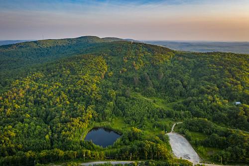 dji mavic2pro monadnock newengland newhampshire sethjdeweyphotography aerial drone dusk evening mountains summer sunset