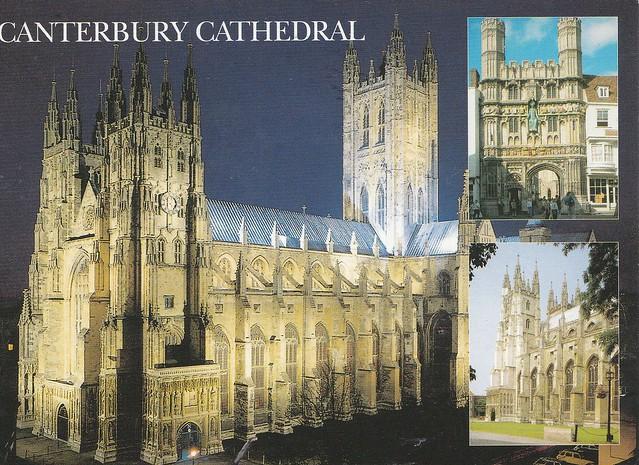 Cathédral de Canterbury, Angleterre