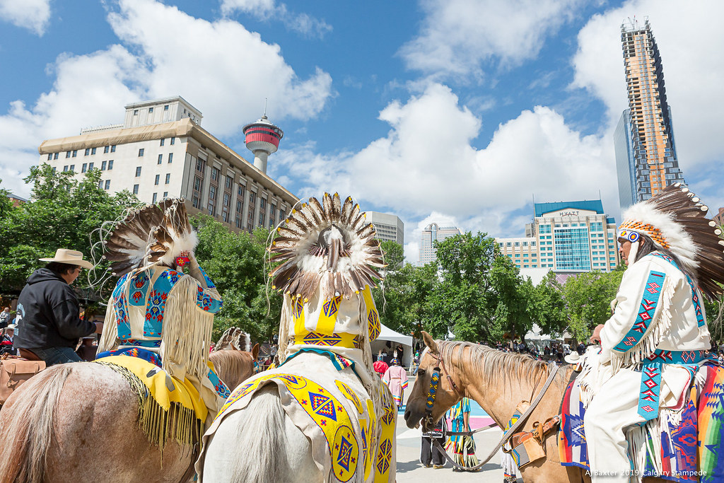 Ajbaxter190708 0471 Calgary Stampede July 2019 Downtown