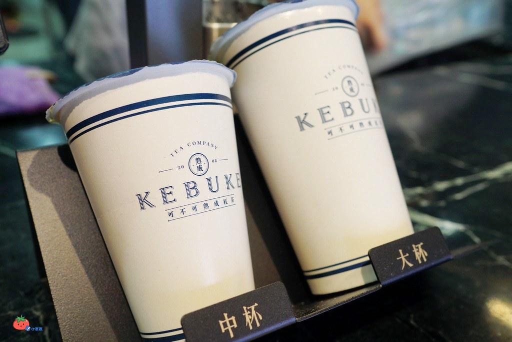 三重手搖飲可不可熟成紅茶 雪藏奶茶