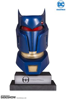 DC Collectibles DC Gallery【騎士隕落 蝙蝠俠面罩】Knightfall Batman Cowl 1/2 比例雕像作品