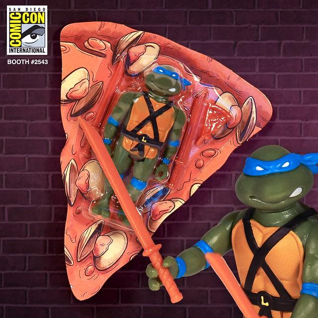 熱騰騰的忍者龜披薩美味出爐?! Super7 ReAction Figures 系列《忍者龜》Teenage Mutant Ninja Turtles 3.75 吋可動人偶【2019 SDCC 限定】