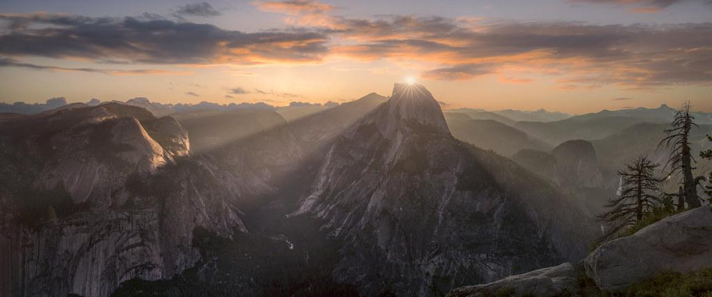 Sun Rise Yosemite