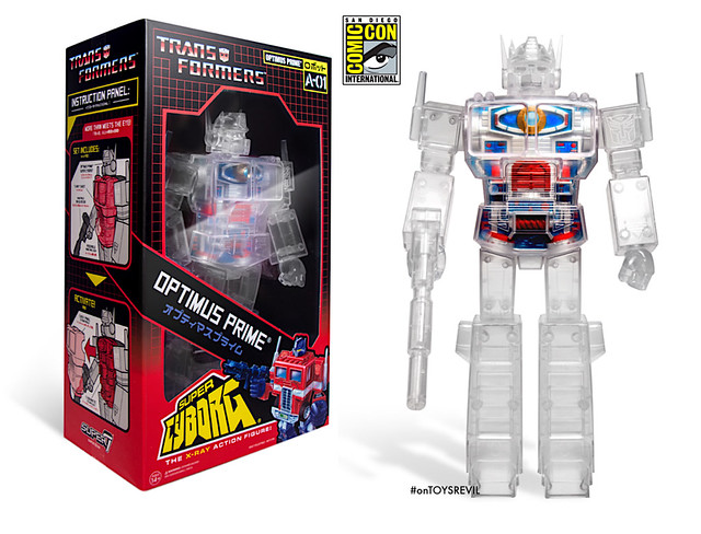 Super7 Super Cyborg 系列《變形金剛》密卡登 Megatron 12吋可動玩具【2019 SDCC 限定】