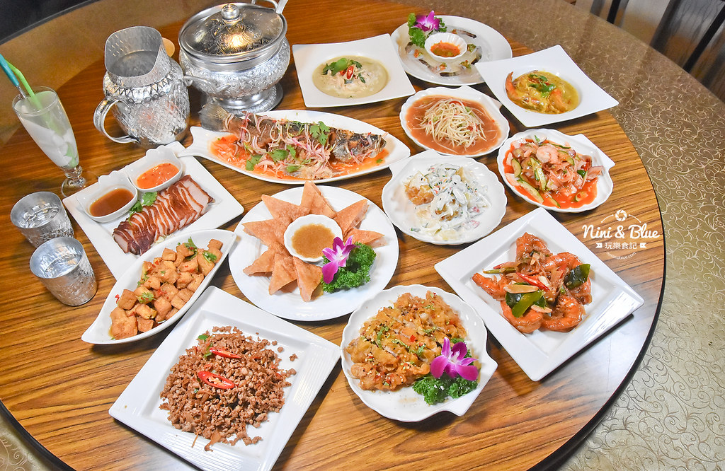 曼谷皇朝 台中泰式料理 推薦 菜單價位28