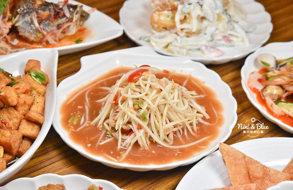 曼谷皇朝 台中泰式料理 推薦 菜單價位25