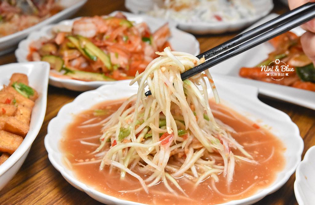 曼谷皇朝 台中泰式料理 推薦 菜單價位33