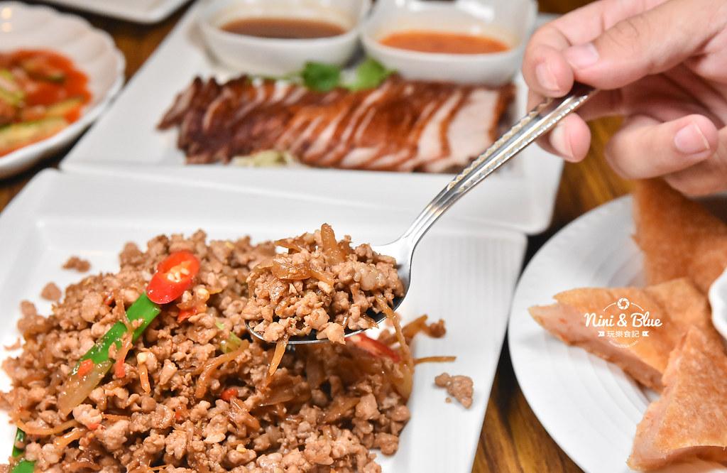 曼谷皇朝 台中泰式料理 推薦 菜單價位24