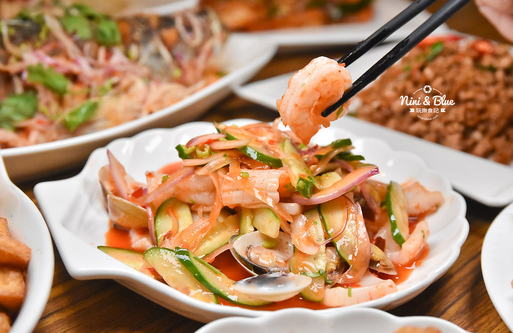曼谷皇朝 台中泰式料理 推薦 菜單價位21
