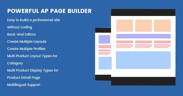powerful Drag n Drop Page builder module