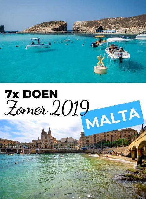 Zomer Malta 2019: 7 leuke dingen om te doen in de zomer op Malta