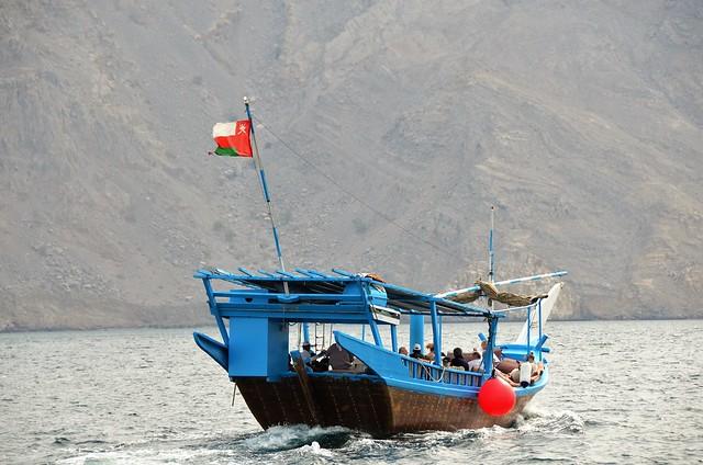 Omán - Khasab - Paseo por el Mar