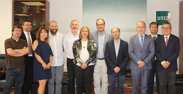 Reunión preparatoria del Centro de Inteligencia Artificial de Ourense (10/07/19)