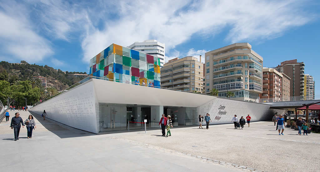 Centre Pompidou Málaga | Mooistestedentrips.nl