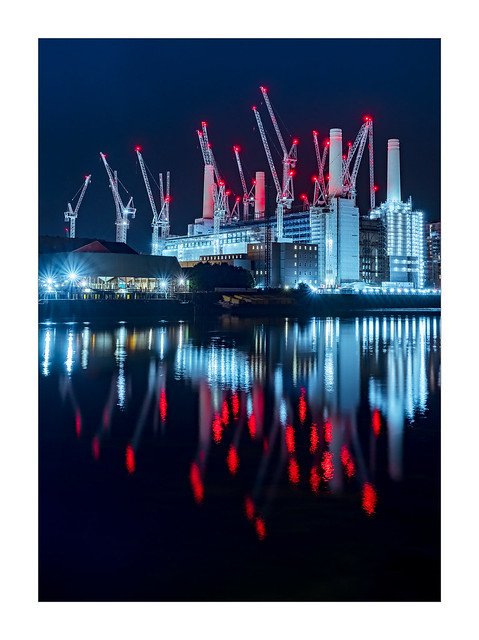 Battersea Blues (and red)