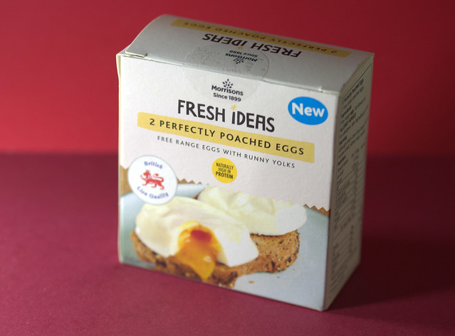 Runny Yolk Poached Eggs in a Box