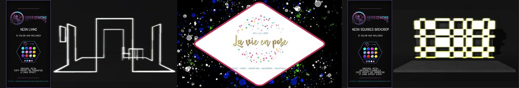 {ID} La Vie En Pose Advert
