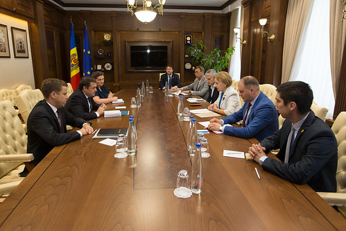10.07.2019 Întrevedere Președintele Parlamentului, Zinaida Greceanîi, cu Ruben Atoyan, șeful Misiunii FMI în Republica Moldova