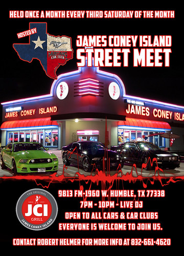 Third Saturday Of The Month Humble, Tx. Flyer | by Camaro Kid Car Show Listings
