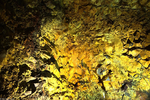 Im Inneren des Vulkans Thrihnukagigur (5.07.19)