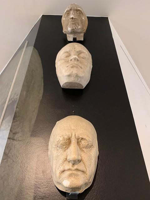 Masque funéraire : Dante, Beethoven, Goethe