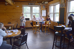 Rep. Hall hosted an informal legislative update at Powder Hollow Brewery in Enfield