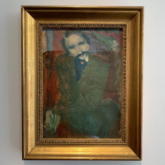 Portrait d'André Gide par Maurice Denis