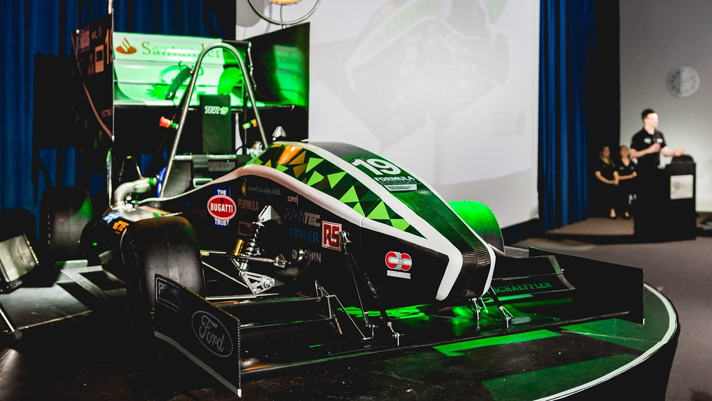 Team Bath Racing 2019 racing car