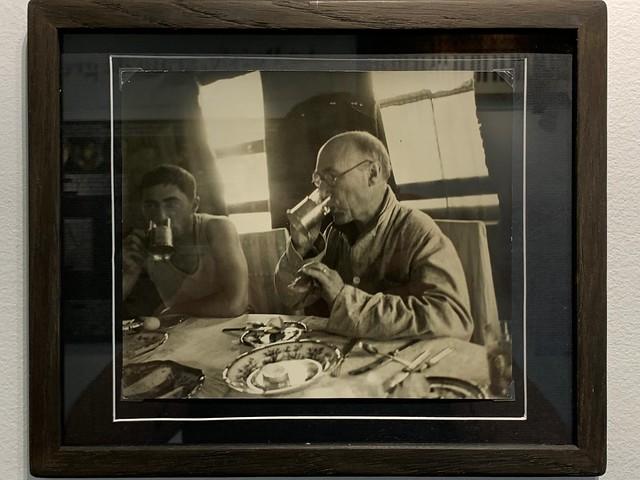 Gide et Eugène Dabit en URSS