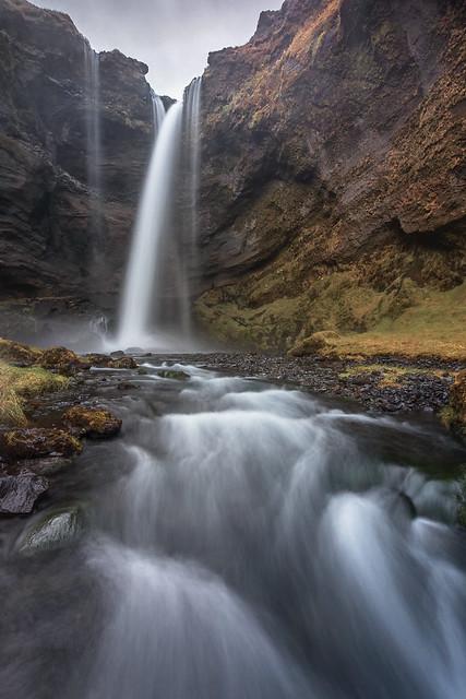 Stunning Kvernufoss, Iceland