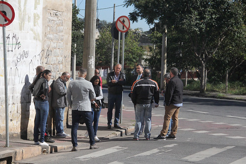 Visita técnica para verificar a possibilidade de alteração no trânsito da Rua Regina Teixeira de Paiva - Comissão de Desenvolvimento Econômico, Transporte e Sistema Viário