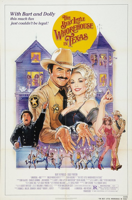 The Best Little Whorehouse in Texas - Poster 1