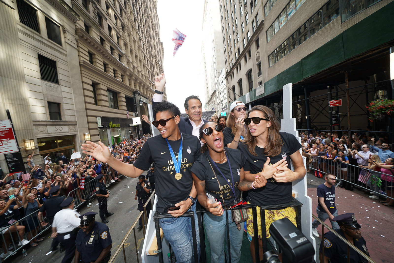 At Ticker-Tape Parade Celebrating the World Champion U.S. Women's Soccer Team, Governor Cuomo Signs Pay Equity Legislation to Close the Gender Wage Gap