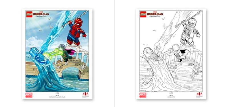 LEGO Marvel Spider-Man Art Print 3